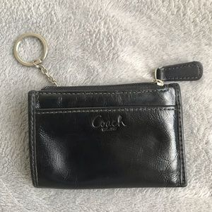 Coach coin/credit card holder